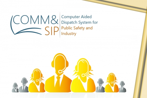 Comm& SIP: a VoIP Dispatch System  for Public Safety, Industry and Healthcare