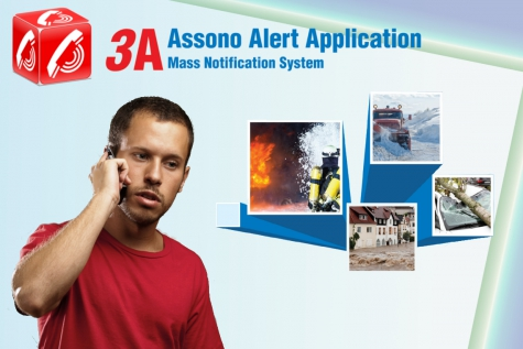 Assono 3A: Mass notification solution for crisis communications